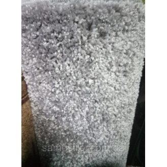 Ковер Шагги Делюкс 1 м серый