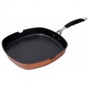 Сковорода-гриль Bergner Infinity chefs Copper 280х280 мм BGIC-1004