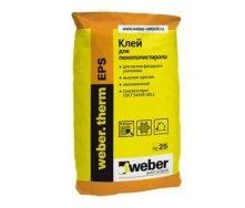 Клей для теплоізоляції Weber.therm EPS 25 кг