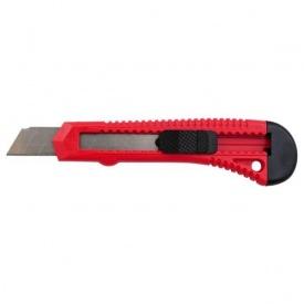 Нож прорезной INTERTOOL НT-0500 с отломным лезвием 18 мм