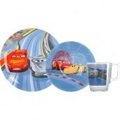 Набор детский Luminarc Disney Cars 3 3 пр N5280