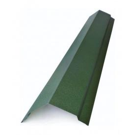 Гребінь плоский Тайл тип 1 30х15х100х100х15х30 мм зелений