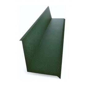 Планка примикання до стіни Тайл 10х140х130х20 мм зелена