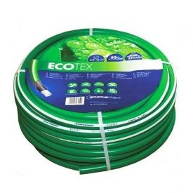 Шланг садовий Tecnotubi EcoTex для поливу 3/4 дюйма 25 м (ET 3/4 25)