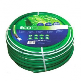 Шланг садовий Tecnotubi EcoTex для поливу 5/8 дюйма 50 м (ET 5/8 50)