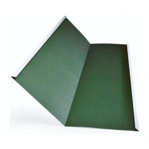 Желоб плоский Тайл тип 2 292х292 мм зеленый