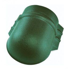 Заглушка универсального конька Тайл 75х195 мм зеленая