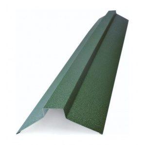 Конек плоский Тайл тип 2 105х20х40х20х105 мм зеленый