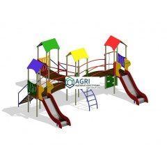 Детские Площадки серии МАЛЫШ 2-7лет
