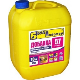 Добавка противоморозная БудМайстер ЗАПРАВА‑57 12 кг