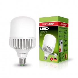 Светодиодная лампа EUROLAMP LED высокомощная 30W E27 4000K