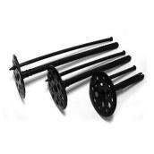 Крепление для утеплителя с пластиковым гвоздем 2 сорт 10х80 мм