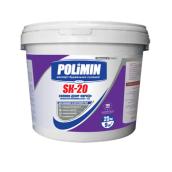 Штукатурка декоративная Polimin SK-20 Короед силиконовая зерно 2 мм 25 кг