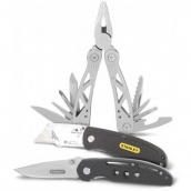 Мультиинструмент + складной Нож Stanley + выдвижной Нож Stanley (STHT0-71029)