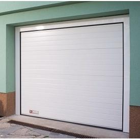 Гаражні секційні ворота KRUZIK Base 2500х2750 мм білий