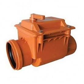 Клапан обратный для канализации 110 мм