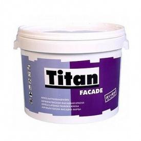 Краска фасадная атмосферостойкая Eskaro Titan Facade 2,5 л