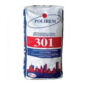 Штукатурка цементная универсальная Полирем СШт-301 25 кг