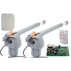 Автоматика для розпашних воріт FAAC GFlash Q MINI (G-BAT 400)