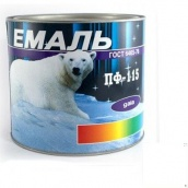 Фарба Емаль ПФ-115 біла 2,5 кг