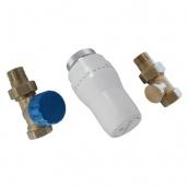 Термостатичний комплект бокового підключення прямий Schlosser GZ1/2xGW1/2 (602300006UA)