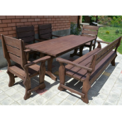 Комплект садових меблів №2 200х90х45 см