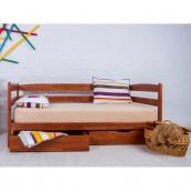 Ліжко дитяче дерев'яне Олімп Маріо 90х200 см з ящиками