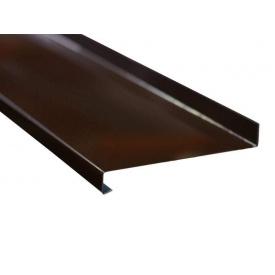 Алюминиевый отлив 90 мм