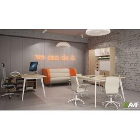 Комплект офисной мебели АМФ №3 - Delta Блэквуд