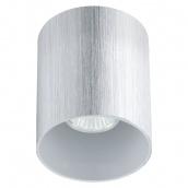 Світильник світлодіодний вбудований EGLO 35W GU10 прозорий/сатин (91196)