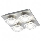 Світильник світлодіодний стельовий EGLO Марчеси 18 W LED нікель-мат/прозорий (94572)