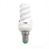 Энергосберегающая лампа Feron ELT19 спираль Т2 9W E14 4000K (04651)