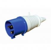 Вилка ElectrO РС -043 2 полюса +PE 125А 230В IP54 (PC043)