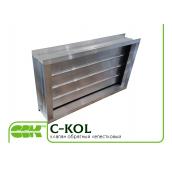 Пелюсткові зворотний клапан C-KOL-80-50