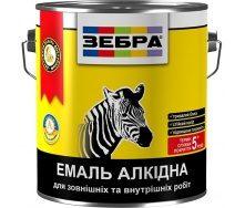 Емаль Зебра ПФ-116 персик №81 алкідна 2,8 кг