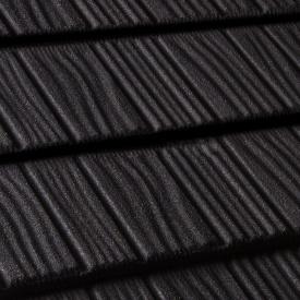 Композитна черепиця Gerard Shake 1250x371 мм deep black