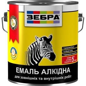 Эмаль Зебра ПФ-116 персик №81 алкидная 2,8 кг