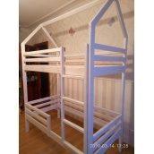 Ліжко 2-х ярусне будиночок 1900х800х1600 мм