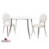 Стол обеденный Vetro мебель Т-501 120х80х75 см