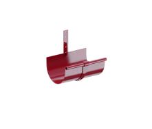 Держатель желоба Fitt металл 125 красный
