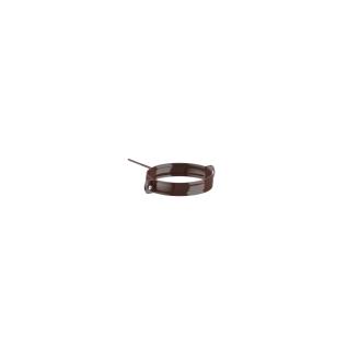 Держатель трубы Fitt металл. 80 мм 220 мм коричневый