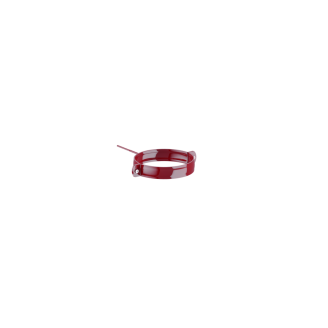 Держатель трубы Fitt металл. 80 мм 160 мм красный