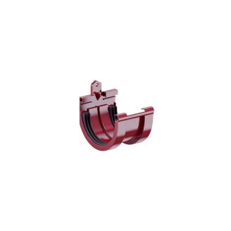 Соединитель желоба Fitt 125 мм красный