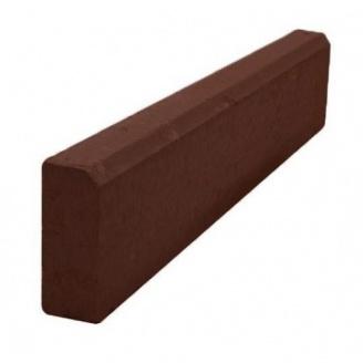 Бордюр тротуарный БР 1000х200х80 мм коричневый