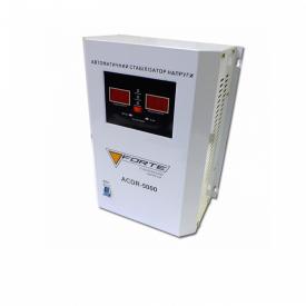 Стабілізатор напруги Forte ACDR-5kVA релейний настінний цифровий