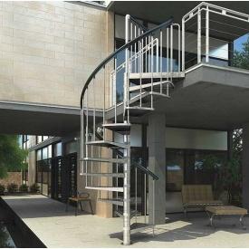 Винтовая лестница DOLLE Gardenspin спиральная