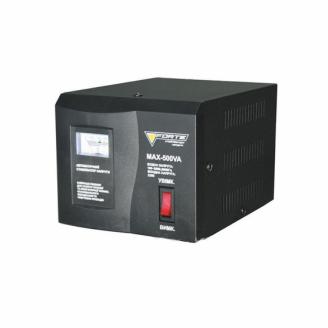 Стабилизатор напряжения Forte MAX-500VA релейный напольный
