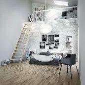 Деревянная лестница DOLLE Normandie прямая