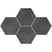 Мозаїка Stargres Town Antracite Mozaika Heksagon 28,3x40,8 см (5903978231412)