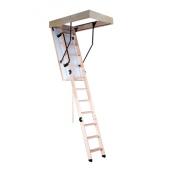 Горищні сходи OMAN prima TERMO S з поручнем 110х70 см